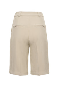 Desert Sand Tailored Bermuda Shorts