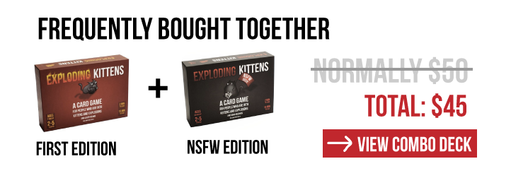 Exploding Kittens - Both Decks