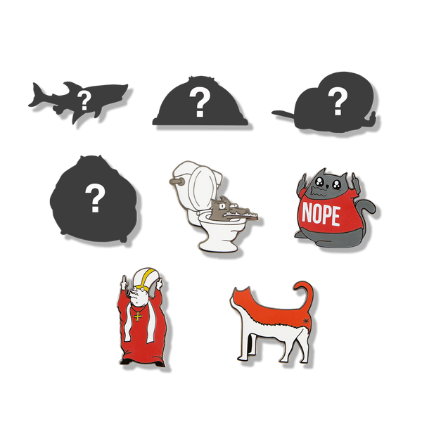 Exploding Kittens Series 2 NSFW Collectible Pins