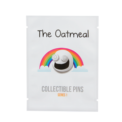 The Oatmeal Collectible Pins