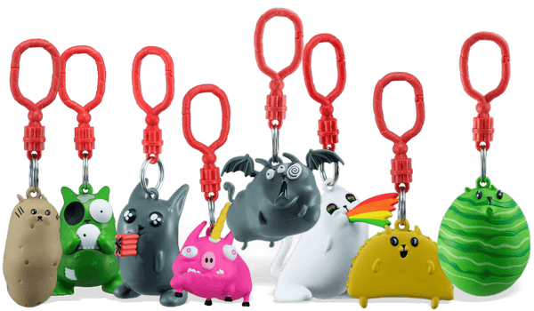 Exploding Kittens Backpack Hangers