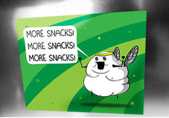 Blerch Snacks Magnet