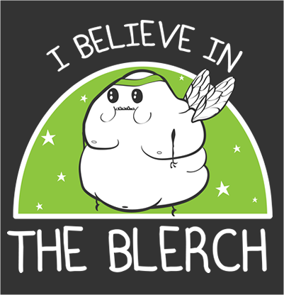 I Believe in The Blerch - Running Shirt