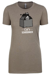 Cat's Schrödinger Shirt