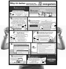 Why It's Better to Pretend You Don't Know Anything About Computers Poster