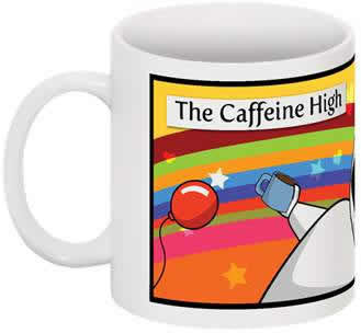 Caffeine High Coffee Cup