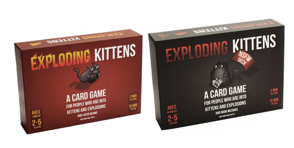 Exploding Kittens : Both Decks