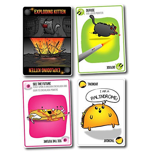 Exploding Cat Game Adult
