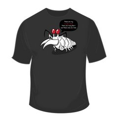 These Are My Murder Sticks - Mantis Shrimp Shirt