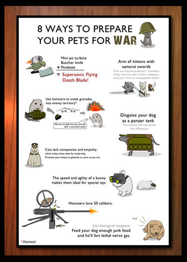 8 Ways to Prepare Your Pets for War- Print