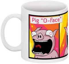 Happy Pig Coffee Cup