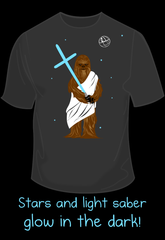 Glow-in-the-Dark Wookiee Jesus Shirt