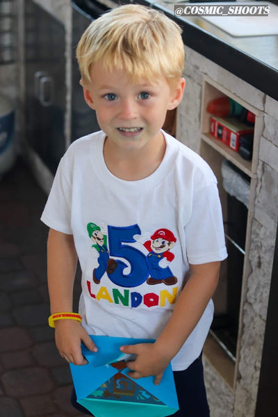 Super Mario Party Shirt | Mario Birthday Shirt | Super Mario Birthday Shirt
