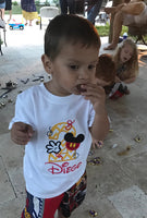Mickey Mouse Birthday Shirt | Mickey Party | Embroidered | Mickey Mouse Shirt