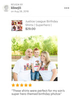 Superhero Family | Superhero Shirts | Flash Birthday Shirt | Justice League Shirt