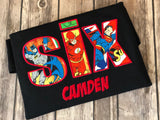 Justice League Superhero Birthday Party Shirt