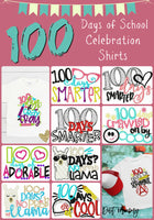 100 Days of School Celebration Shirts