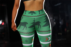 Christmas Yoga Pants sport leggings yoga leggings women fitness colorvalue high waiste gym leggings women ropa deportiva mujer