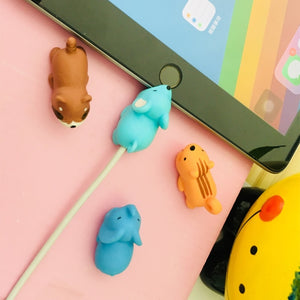Dropshipping 1pcs Cable Chompers Animal Protectors Bite