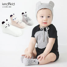 Load image into Gallery viewer, Newborn Cartoon Socks Baby Cotton Socks Non-slip High Quality Socks