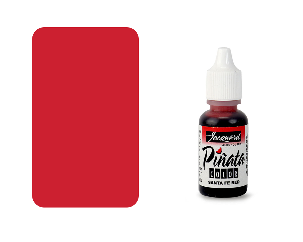 "Jacquard Piñata Alcohol Ink ""Santa Fe Red"" - 14ml"