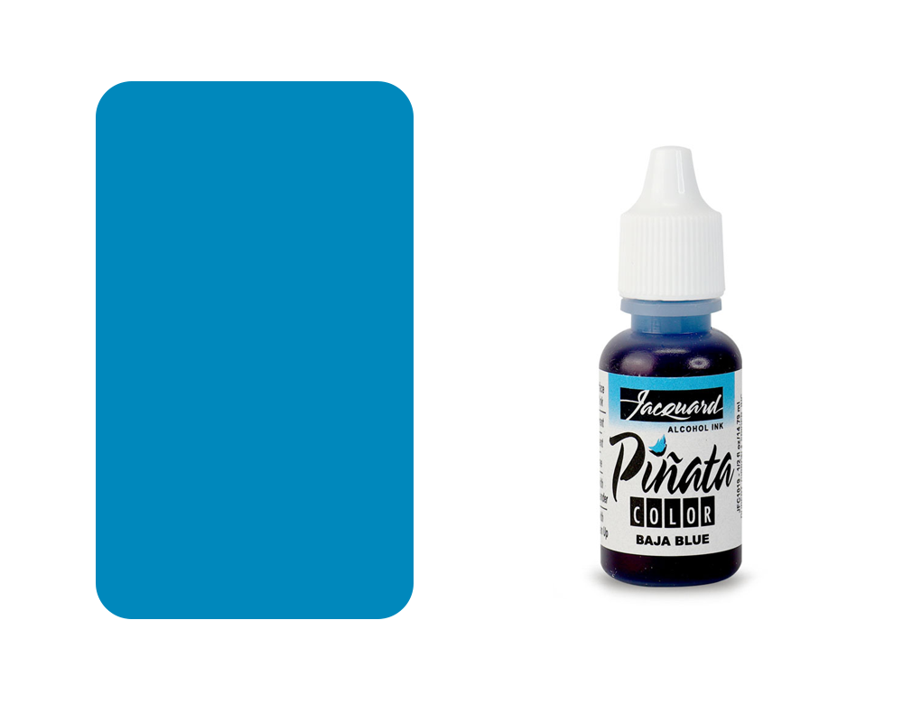 "Jacquard Piñata Alcohol Ink ""Baja Blue"" - 14ml"