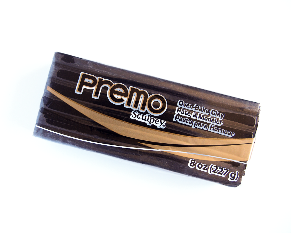 8oz Premo Sculpey 227g - Black
