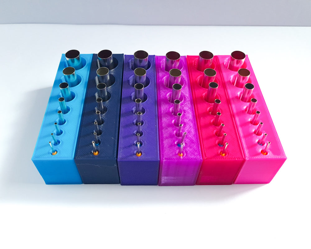Micro Cutters & Holder (Choose Your Colour)