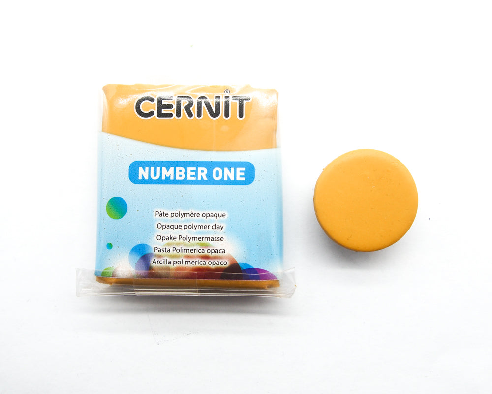 Cernit Number One 56g - Yellow Ochre