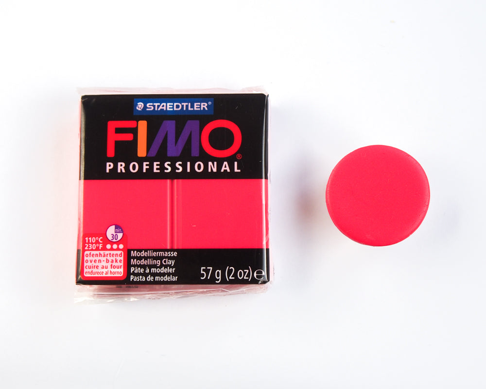 Fimo Professional 57g - True Red