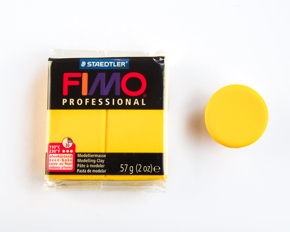 Fimo Professional 57g - True Yellow