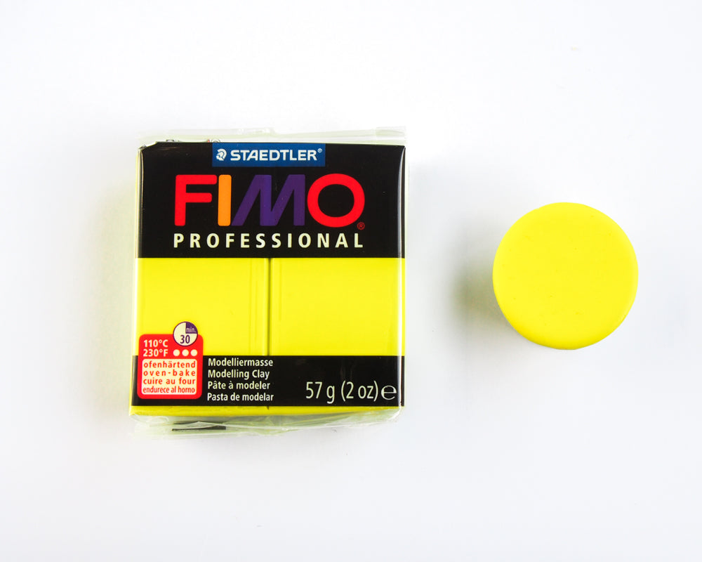 Fimo Professional 57g - Lemon Yellow