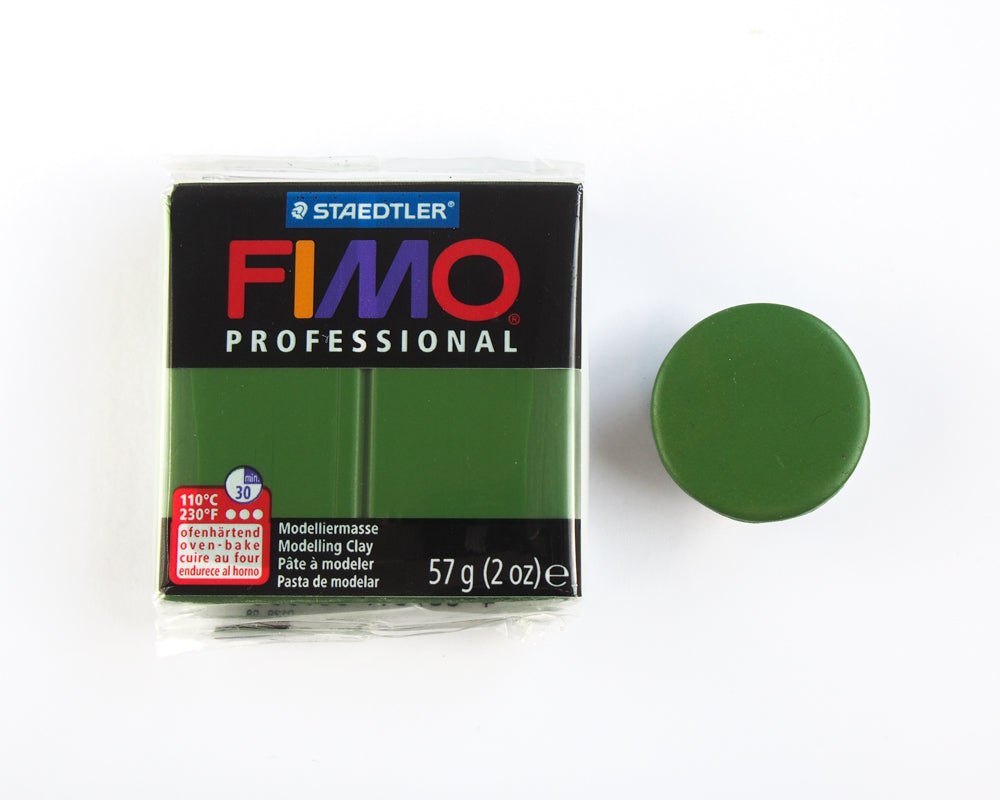 Fimo Professional 57g - Leaf Green