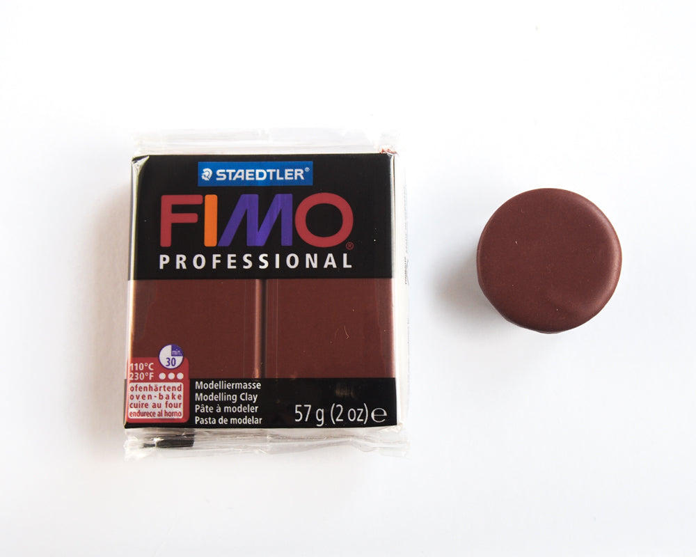 Fimo Professional 57g - Chocolate