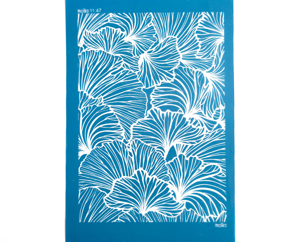 Moiko Silk Screen - 11.47 - Large Petals