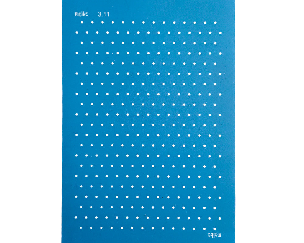 Moiko Silk Screen - 3.11 - Small Dots