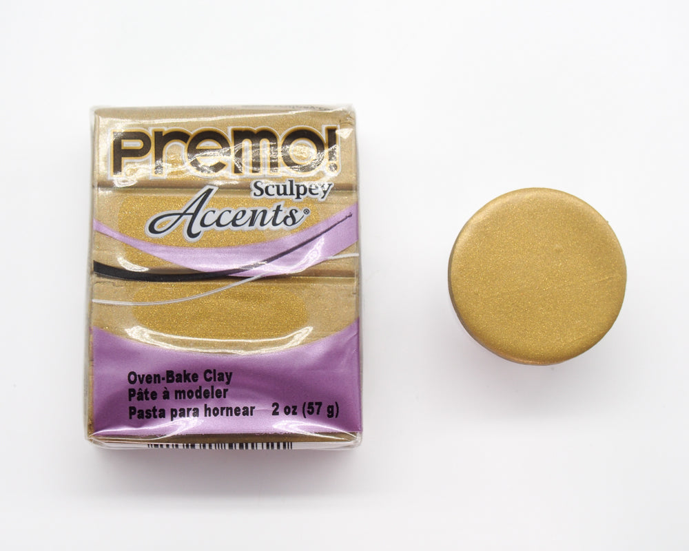 Premo Sculpey 57g - Antique Gold