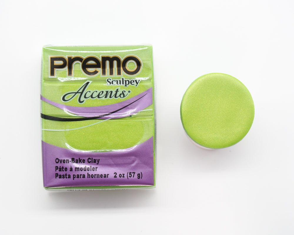 Premo Sculpey 57g - Bright Green Pearl