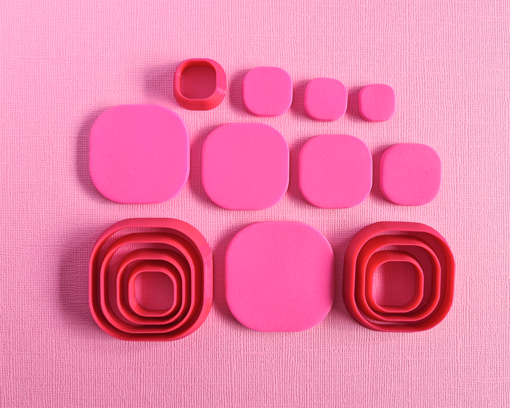 Square [Rounded] Shape Cutters