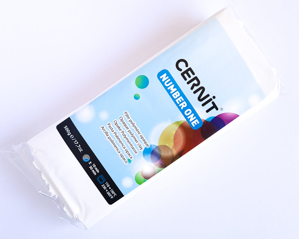 Cernit Number One 500g - White
