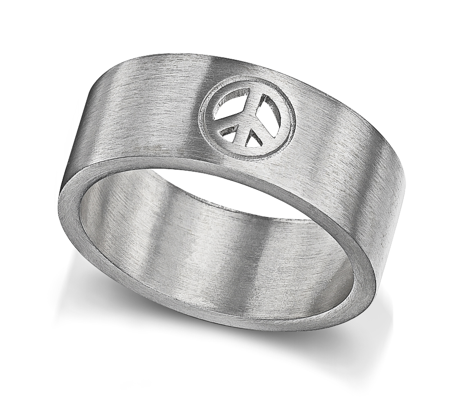Peace & Love Ring