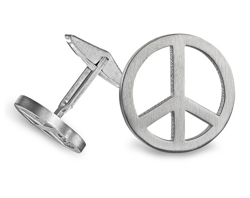 Peace Cuff Links