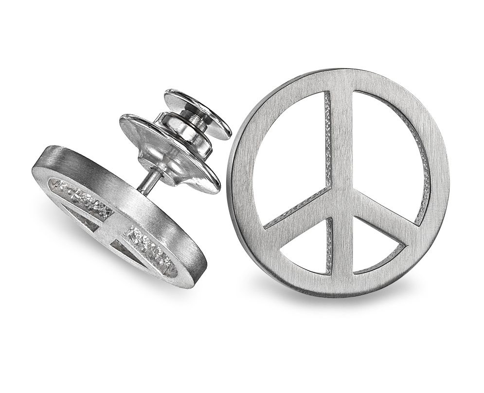 Power of Peace Tie Tac