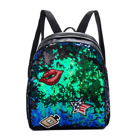 Bling Sequins Paillette Backpack