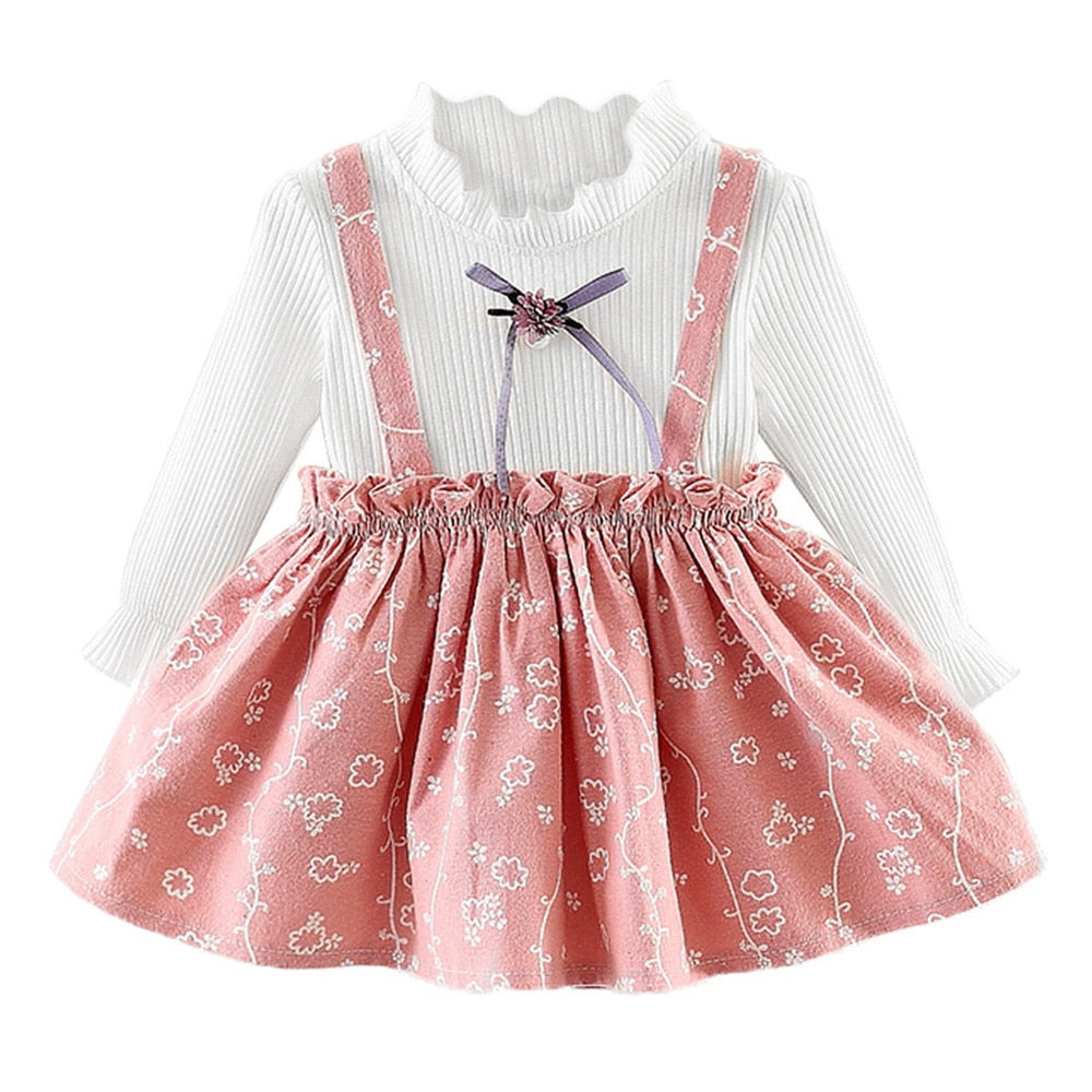 f84d00e17593 Toddler Baby Girls Dress Long Sleeve Princess Party Pageant .