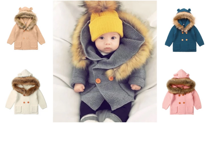 Baby fluffy coat - Babystation Drive