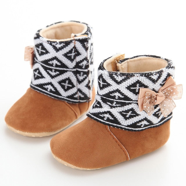 Fur lined booties - Babystation Drive