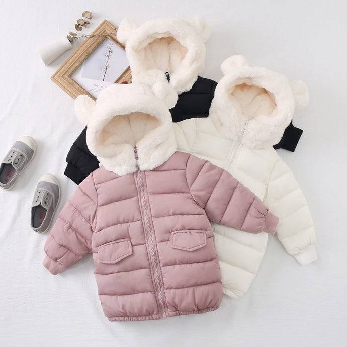 Bear hooded winter coat - Babystation Drive