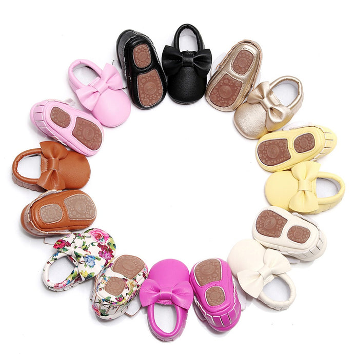 moccasins first walker shoes - Babystation Drive