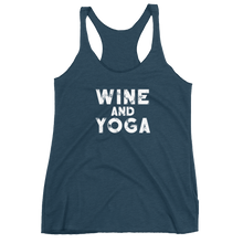 Wine & Yoga Women's Racerback Tank